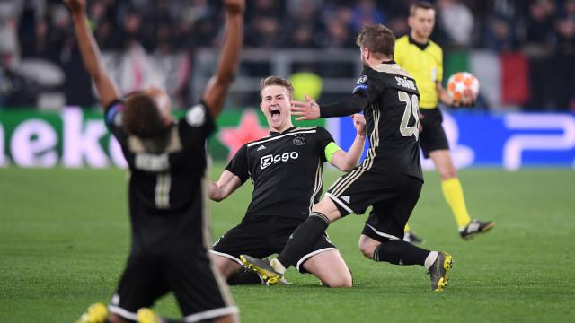 UEFA divulga equipa da semana da Champions... sem jogadores do Ajax
