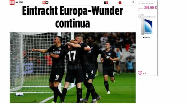 """Imprensa internacional e o adeus do Benfica: """"fúria"""" e """"eclipse"""""""