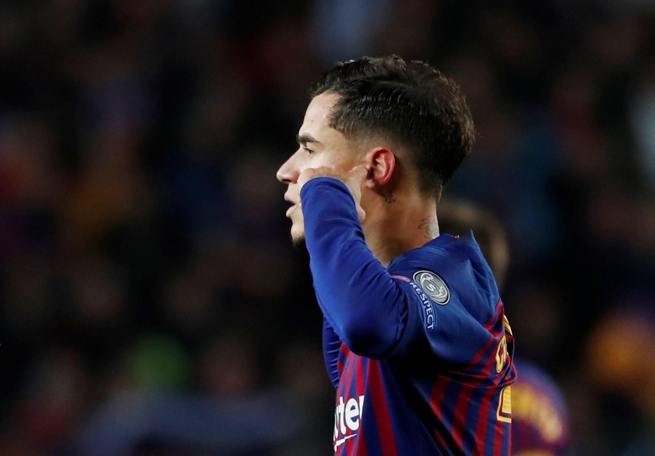 Após festejo polémico em Camp Nou, Coutinho explica-se aos adeptos