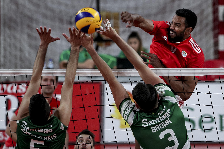 Voilebol: Benfica vence Sporting e pode ser campeão na casa do rival