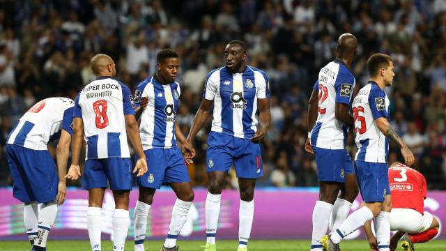 Marega respondeu às críticas e 'pressionou' o Benfica