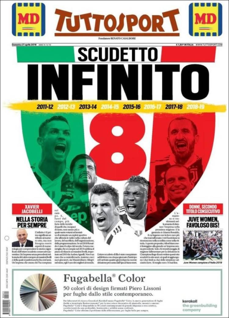 Lá fora: O Scudetto infinito da Juve e a revolução de Zidane