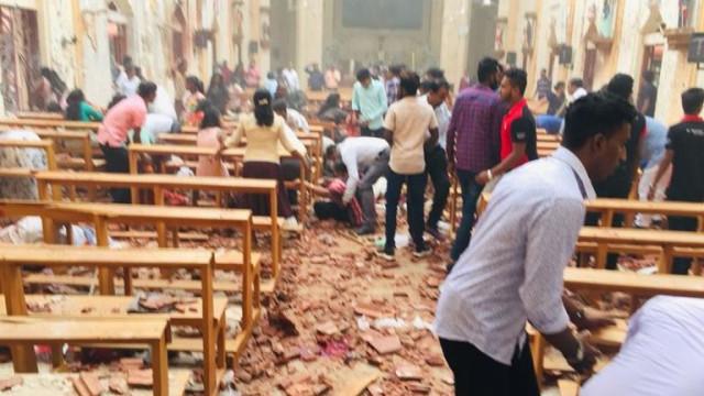 Há um português entre as vítimas mortais nas explosões no Sri Lanka