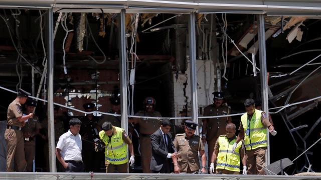 Sete detidos suspeitos de serem os autores das explosões no Sri Lanka