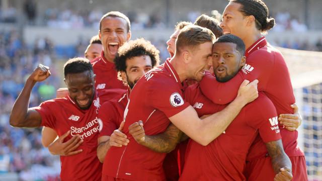 Liverpool recupera liderança; Arsenal 'abre' espaço ao Chelsea