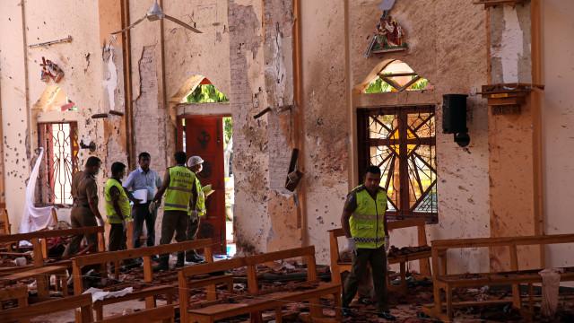 Ataques no Sri Lanka terão sido perpetrados por grupo islâmico local