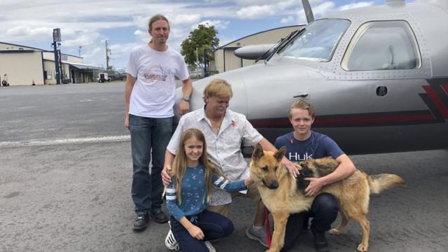 Cão reencontra família depois de ter sido roubado há dois anos