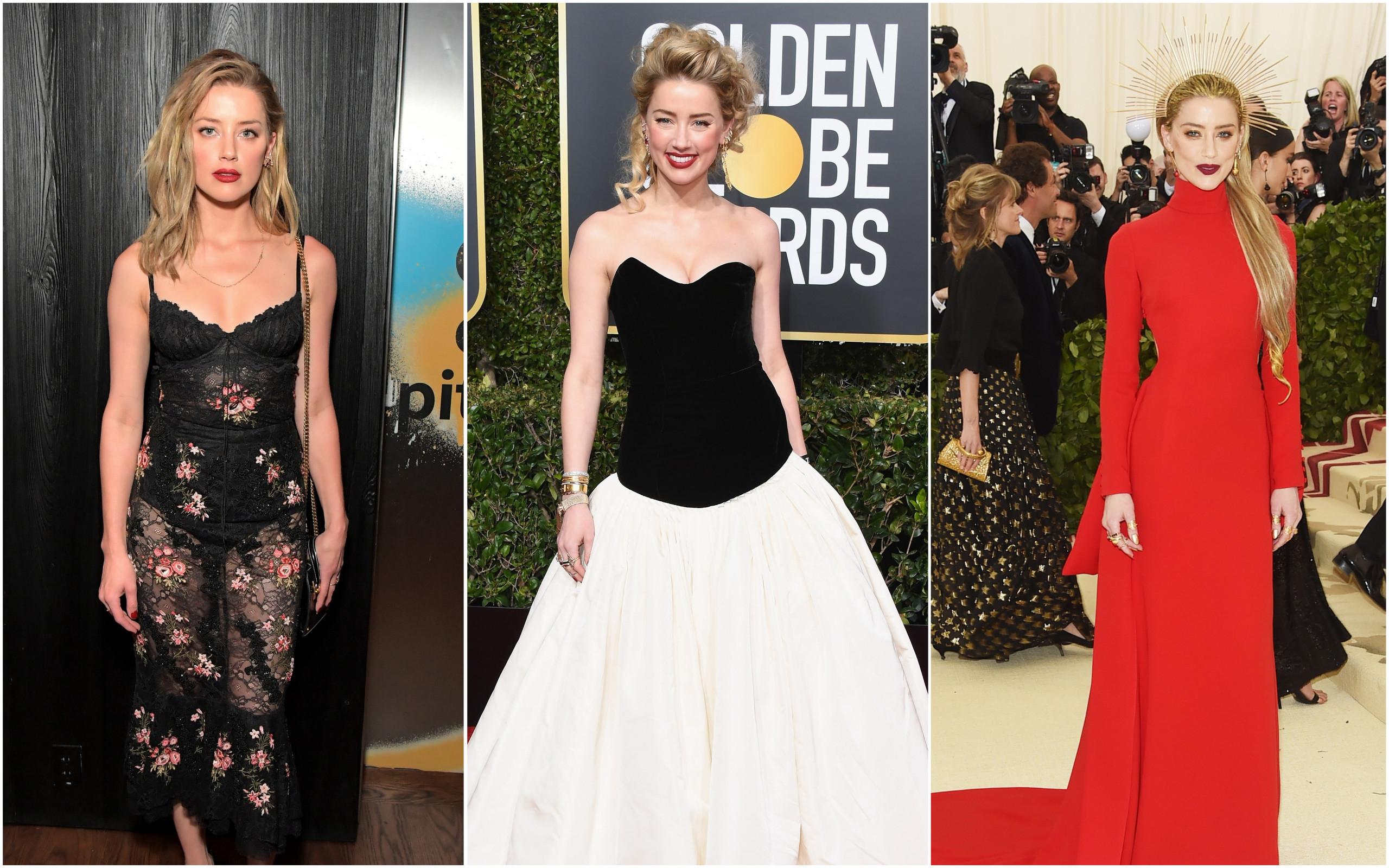 Amber Heard: Os 33 looks mais elegantes da atriz