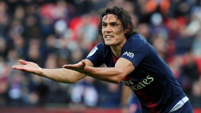 Paris Saint-Germain já estabeleceu preço para deixar sair Cavani
