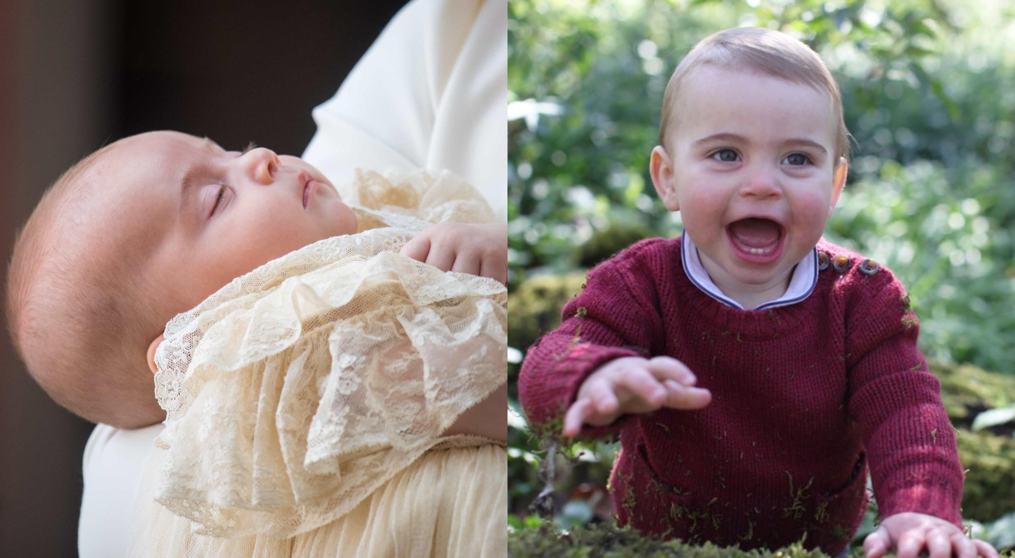 Como o pequeno Louis cresceu... Família real partilha fotos do príncipe