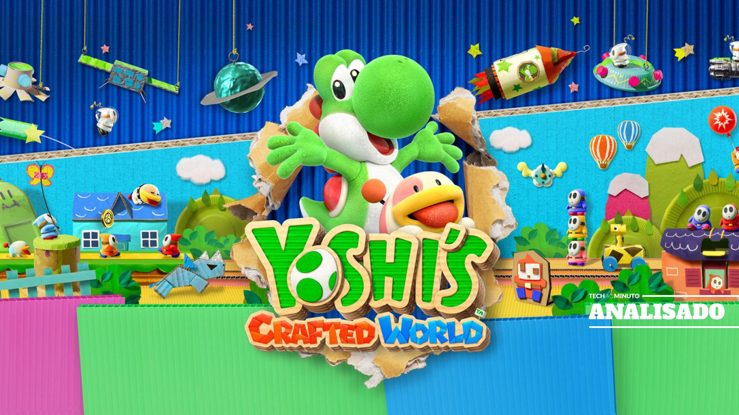 'Yoshi's Crafted World'. Para conquistar os mais novos e toda a família