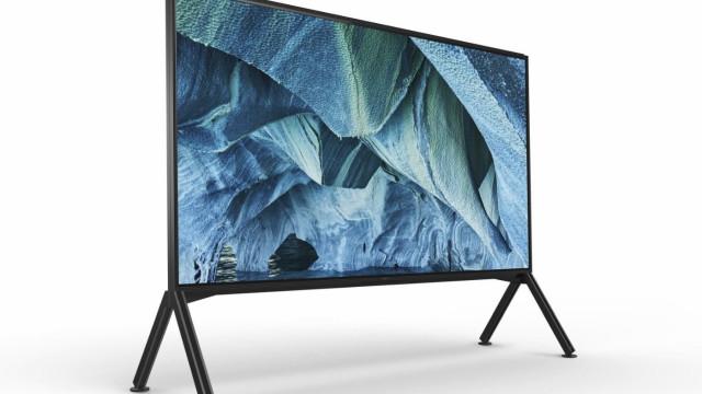Uma das novas televisões da Sony custará mais de 60 mil euros