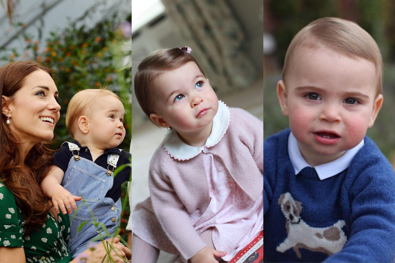 George, Charlotte e Louis: Os filhos de William e Kate com um ano