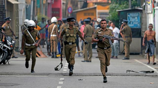 Nova explosão no Sri Lanka perto da capital