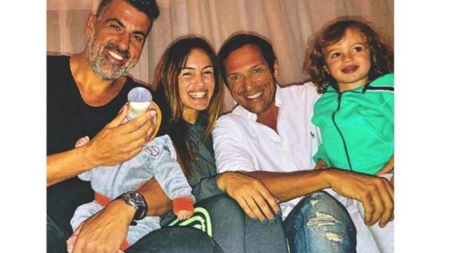 Liliana Aguiar com os pais dos filhos: A opinião de Cláudio Ramos