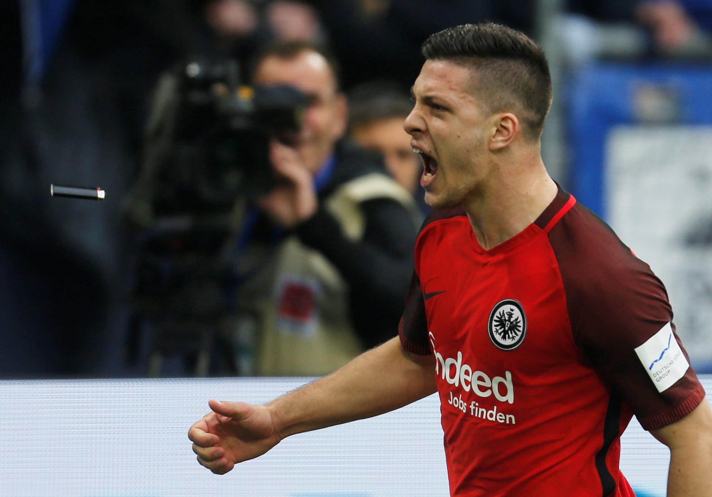 Jovic: Frankfurt sobe fasquia negocial e sérvio já custa 80 milhões