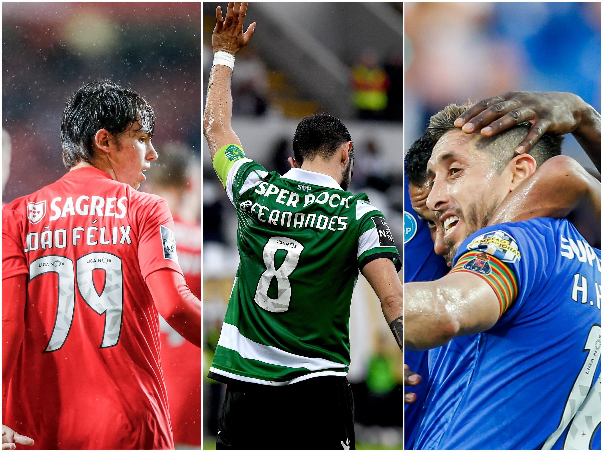 Benfica, FC Porto e Sporting: A saída está à vista para estes jogadores