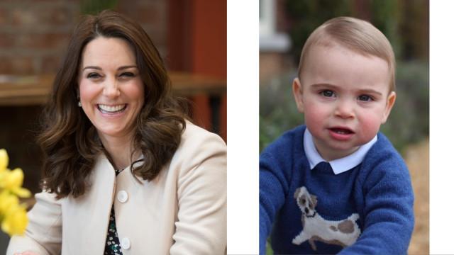 As incríveis semelhanças entre o príncipe Louis e Kate Middleton