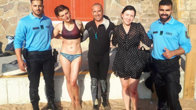 GNR salva duas mulheres de se afogarem na praia Formosa