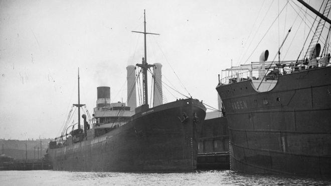 Encontrados destroços de navio afundado há quase 80 anos