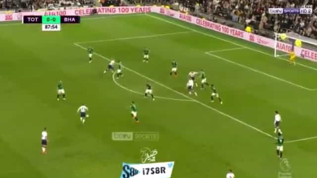 Tiro de Eriksen abate Brighton e deixa Spurs em terceiro