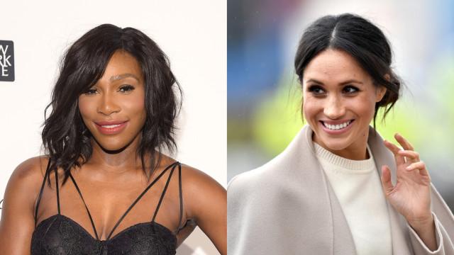 Serena Williams revela como foi organizar o chá de bebé de Meghan Markle