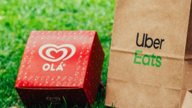 A Uber Eats já chegou ao Algarve, com box de gelados Olá por 3 euros