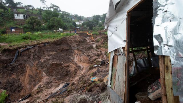 Chuvas fortes na África do Sul já provocaram mais de 50 mortos