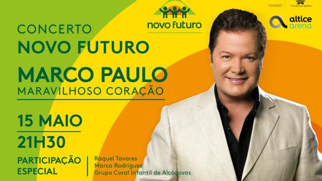 Marco Paulo em concerto solidário para ajudar crianças em risco