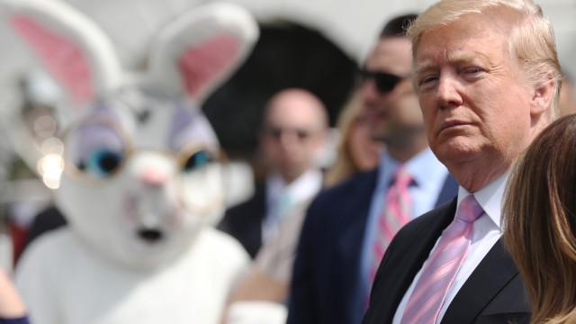 Trump volta a ameaçar enviar exército para a fronteira com o México