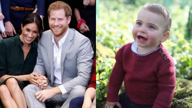 Harry e Meghan Markle criticados após darem os parabéns ao príncipe Louis
