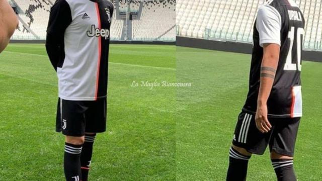 Novo equipamento de Ronaldo na Juventus está a dar que falar