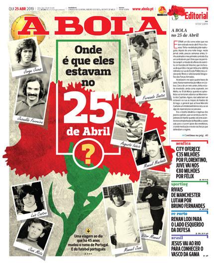 Por cá: A liberdade de um dia histórico e um espanhol intocável