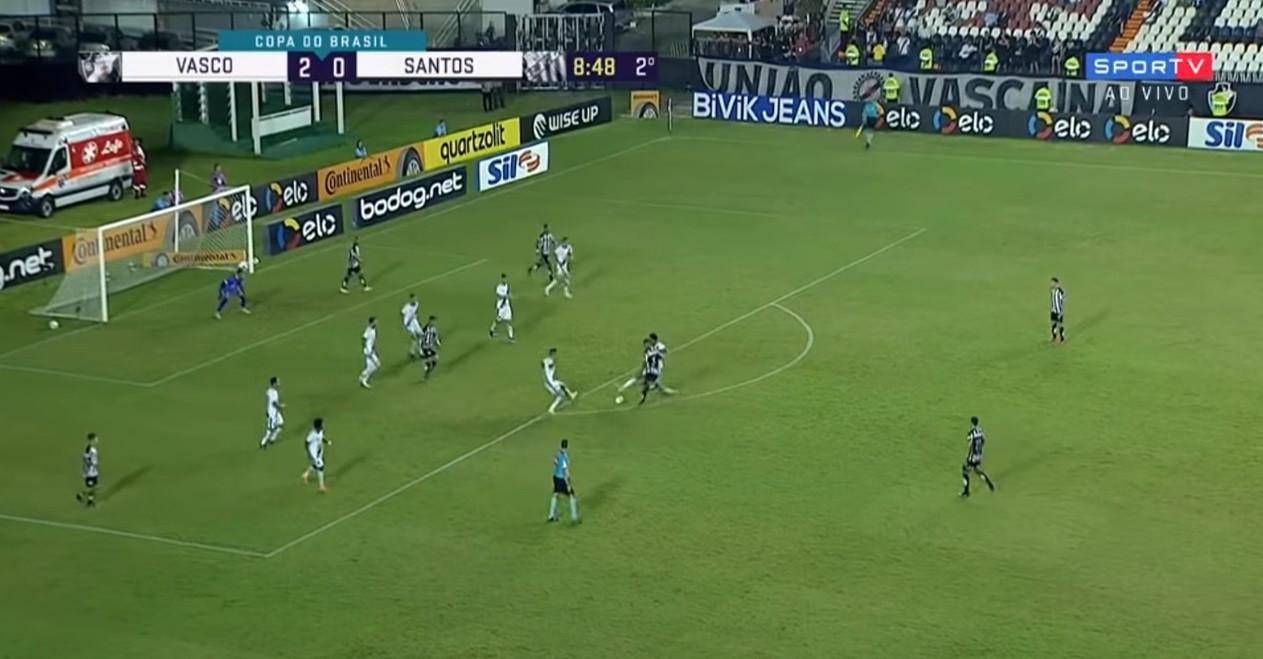 Jorge não vingou no FC Porto, mas já marca no Santos