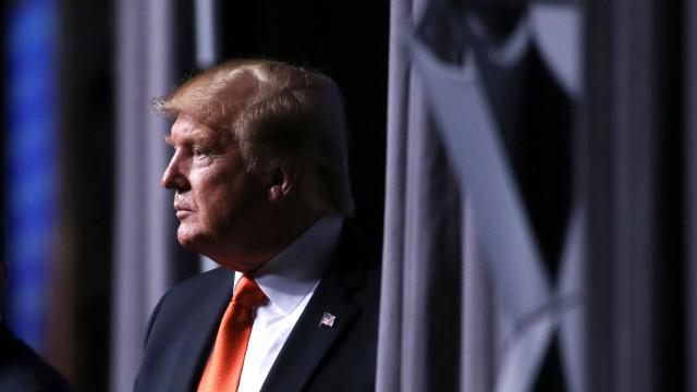 Trump dá boas-vindas à candidatrura de Joe Biden. Mas é mordaz