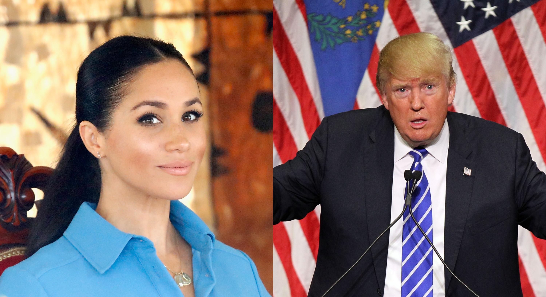 Meghan Markle irá usar licença de maternidade para evitar Donald Trump