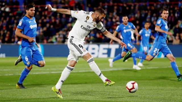 Getafe amarrou Madrid ao nulo e Champions é um sonho quase Real