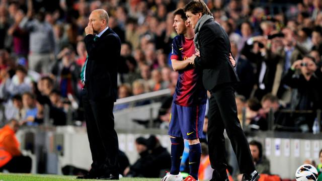 Tito Vilanova convenceu Messi a ficar no Barça seis dias antes de morrer
