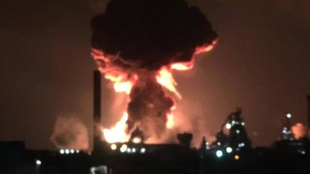 Explosões na maior siderúrgica do Reino Unido. Dois feridos