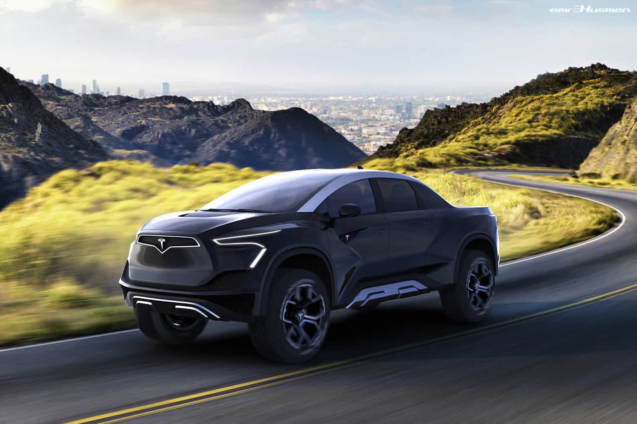Designer imaginou como será carrinha 'pick-up' da Tesla. Veja as imagens