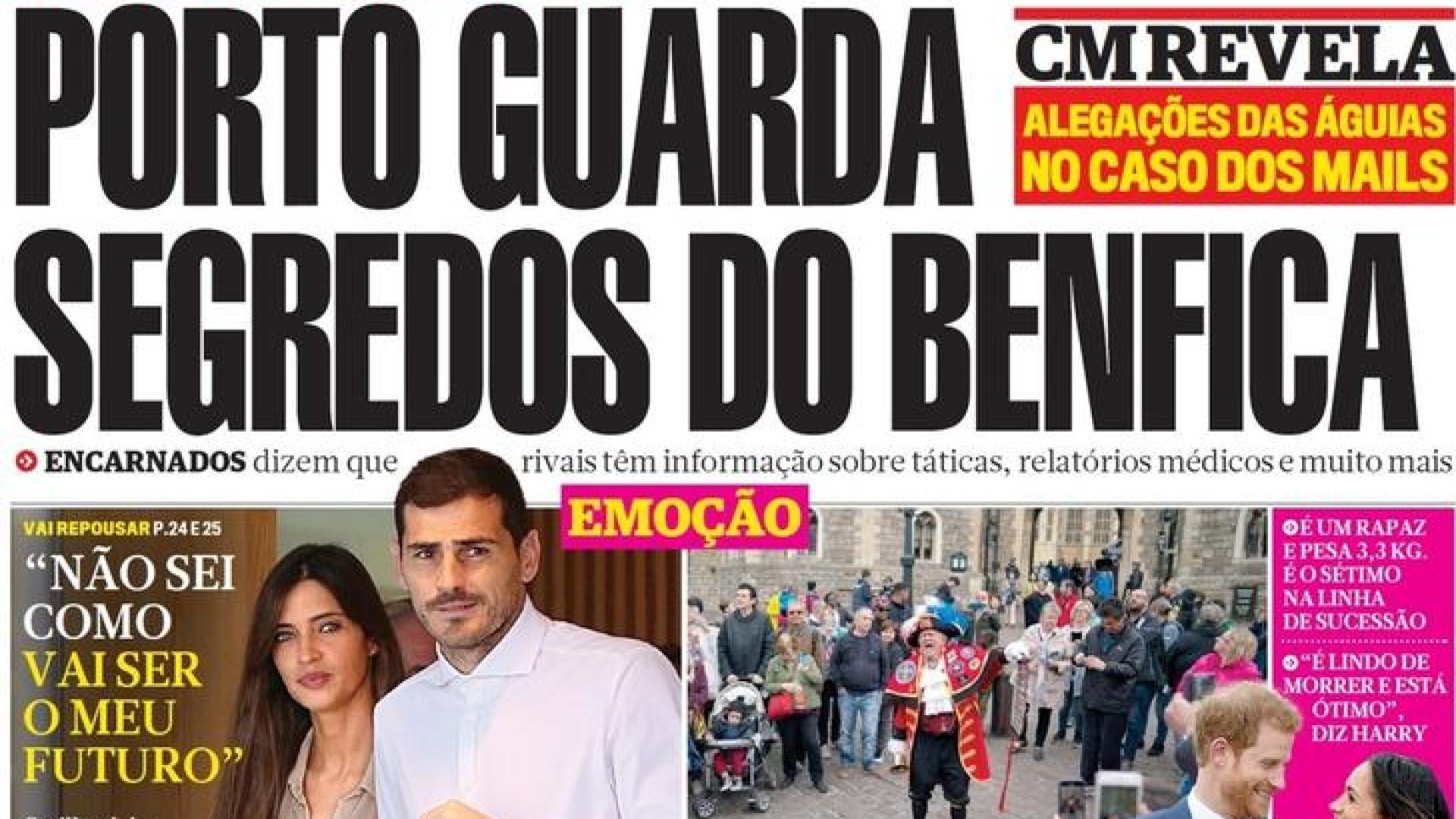 a356eec4693 Hoje é notícia  FC Porto guarda segredos do Benfica  Mais ataques de cães