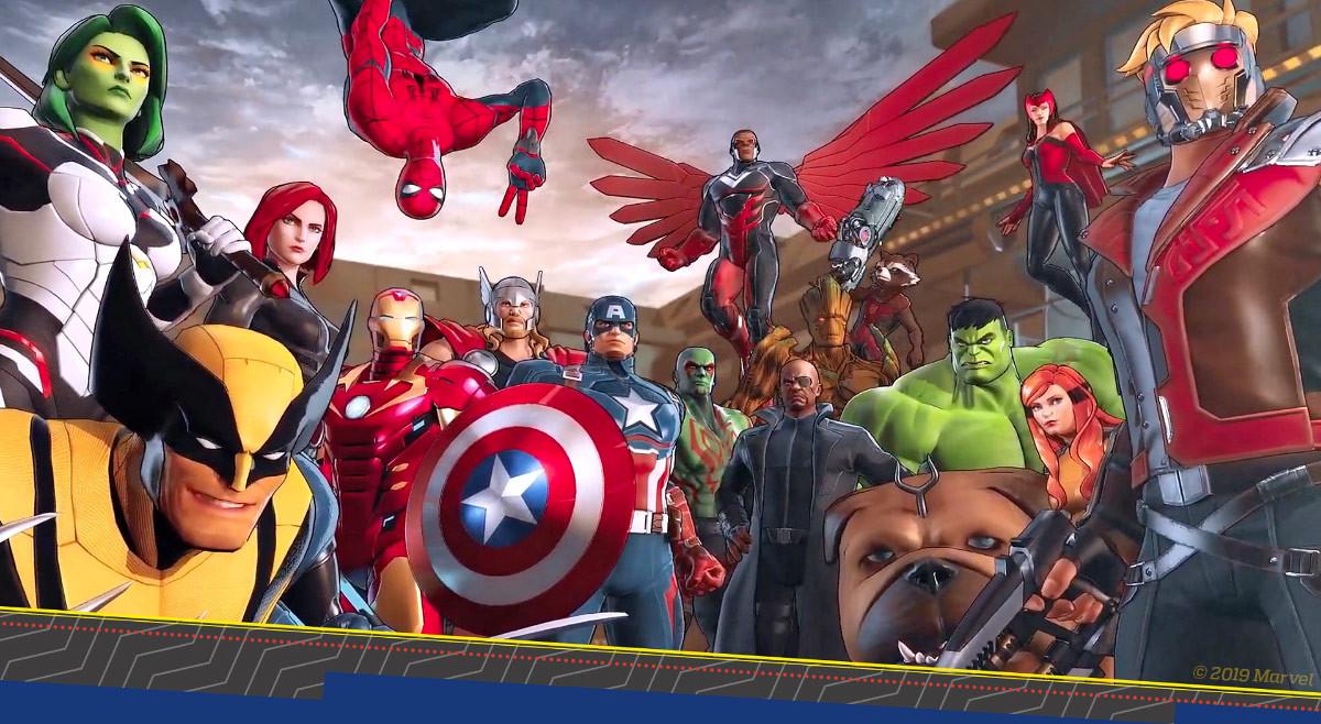 Switch está prestes a receber super-heróis da Marvel