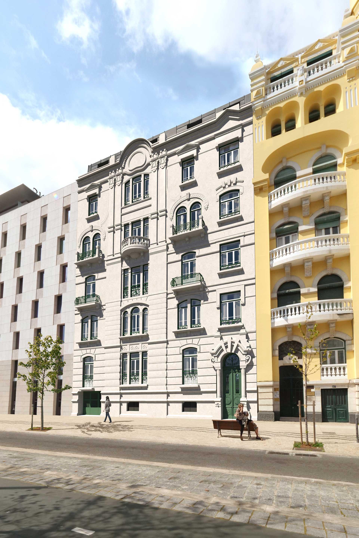 Av. República. Estes apartamentos de luxo estão isentos de IMI e IMT
