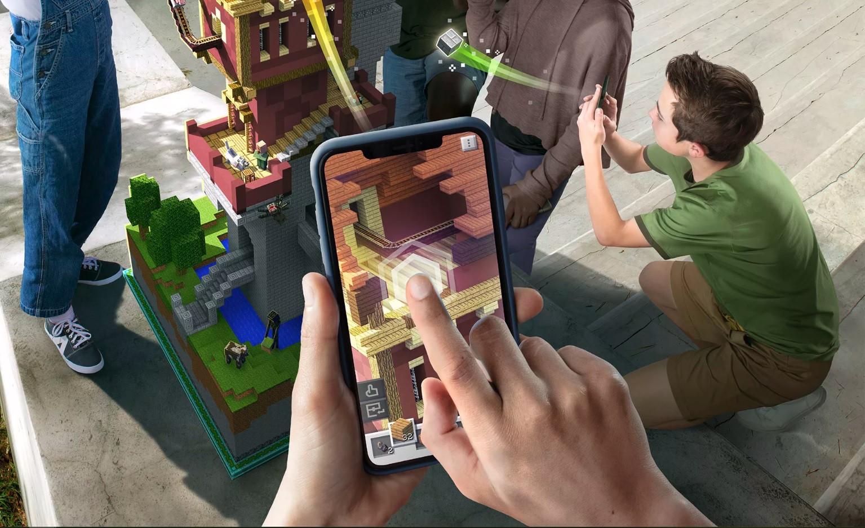 'Minecraft Earth'. App vai transformar o mundo à sua volta em blocos