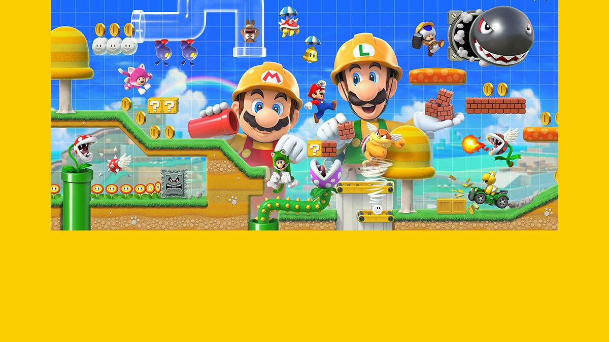 Novo 'Super Mario' permite-lhe criar níveis inteiros para jogar