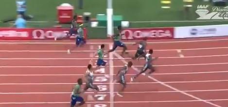 O impressionante sprint de Noah Lyles a fazer lembrar Usain Bolt