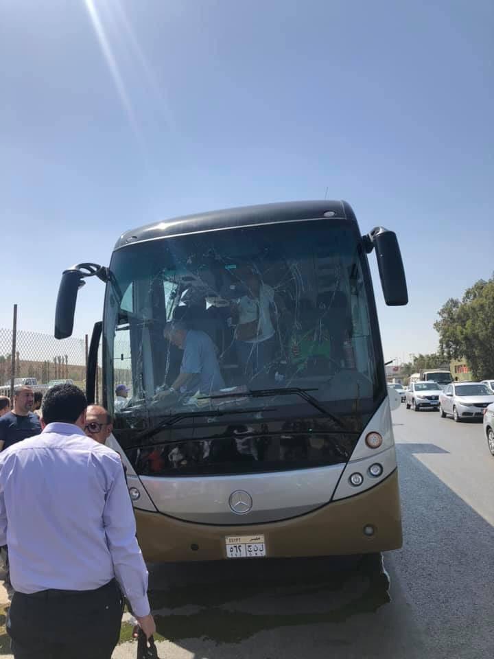 Autocarro com turistas atacado em Gizé no Egito