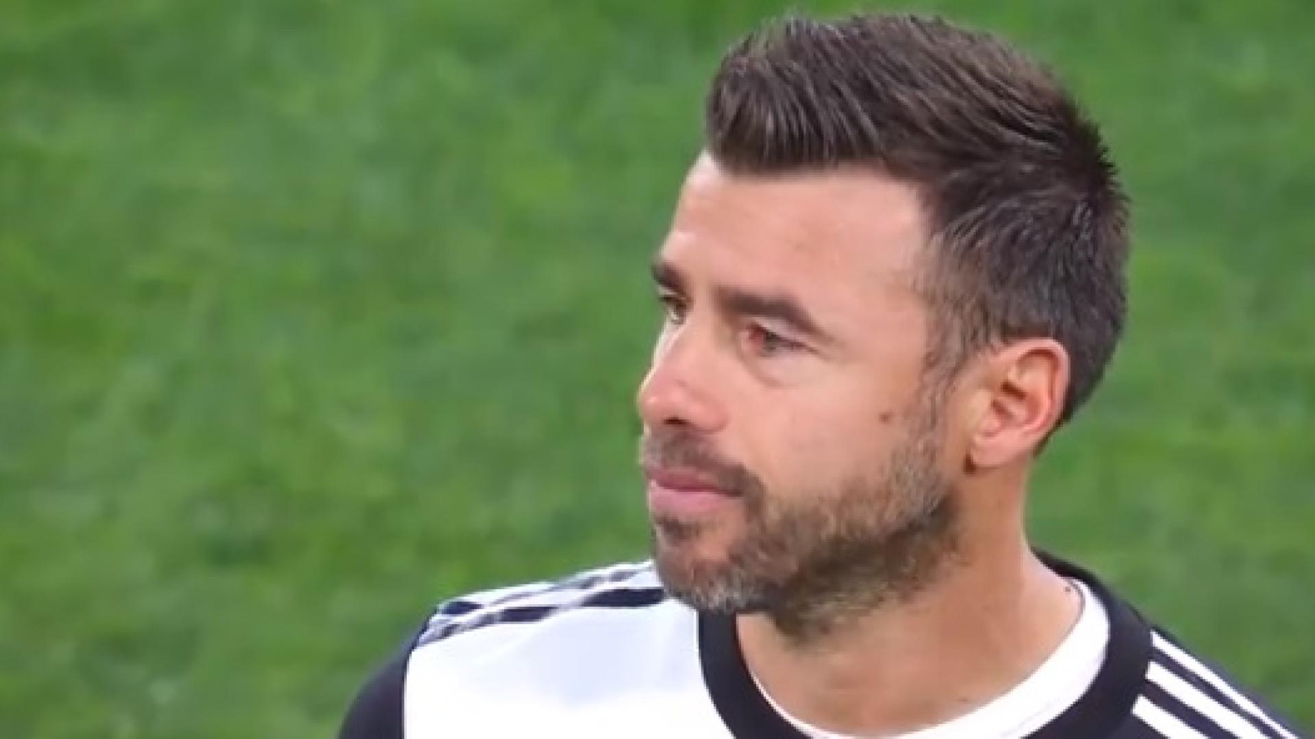Sorrisos e lágrimas: A arrepiante despedida de Barzagli da Juventus