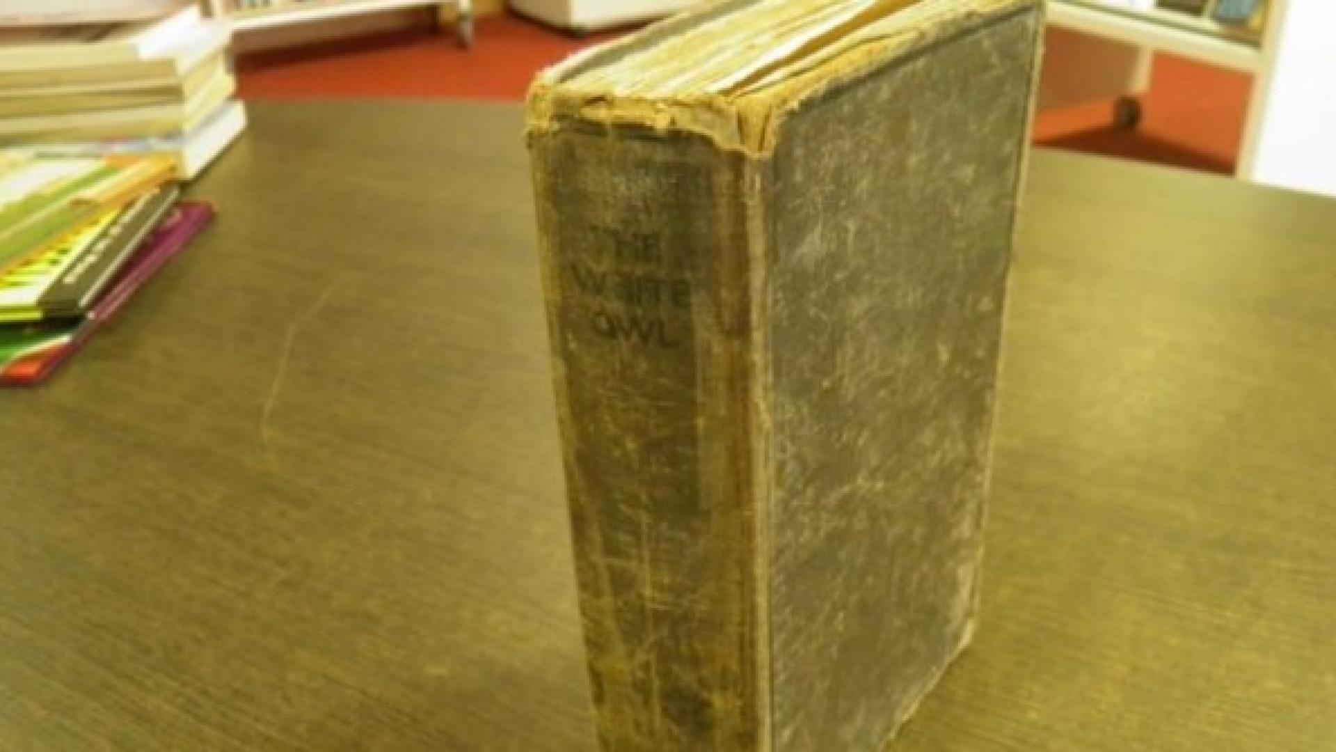 Livro raro foi devolvido a biblioteca mais de 80 anos depois