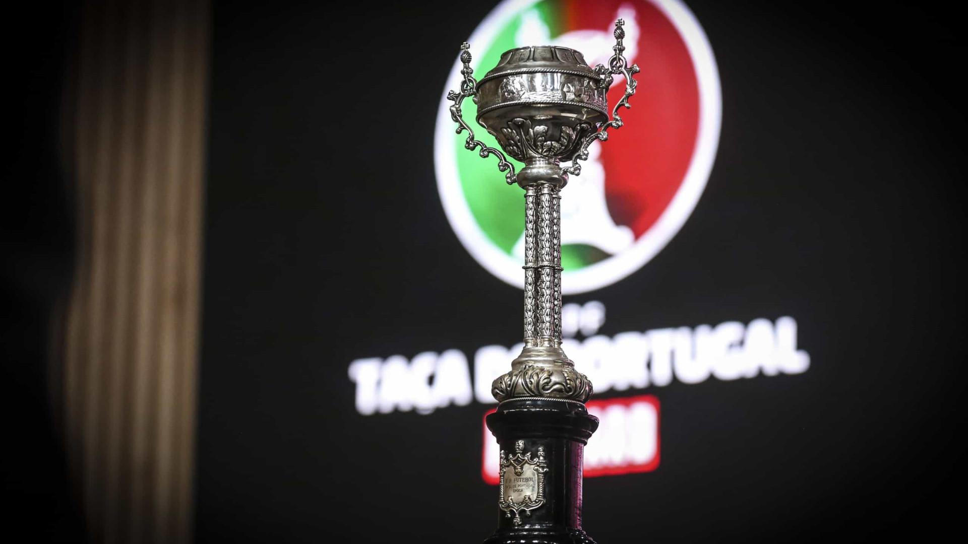 Seis equipas da I Liga tentam chegar à quarta eliminatória da Taça